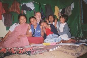 Prostovoljstvo - Sibila v Indiji