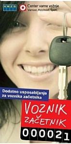 Vozniki začetniki morajo tečaj varne vožnje opraviti pred iztekom dveh let.