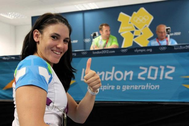 Saša Golob na OI v Londonu 2012